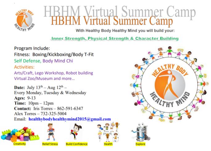 virutal summer camp flyer pic